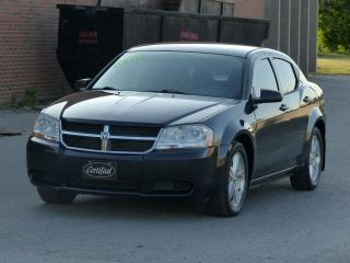 Used 2009 Dodge Avenger NO-ACCIDENTS,SXT,POWER SEAT,ALLOY WHEELS,CERTIFIED for sale in Mississauga, ON