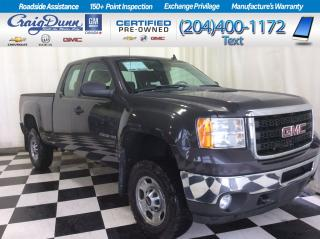 Used 2011 GMC Sierra 2500 HD * Double Cab 4x4 * 6.0L V8 ENGINE * for sale in Portage la Prairie, MB