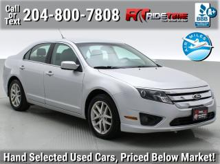 Used 2012 Ford Fusion SEL for sale in Winnipeg, MB