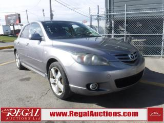 Used 2006 Mazda MAZDA3 Sport GS 4D Hatchback for sale in Calgary, AB