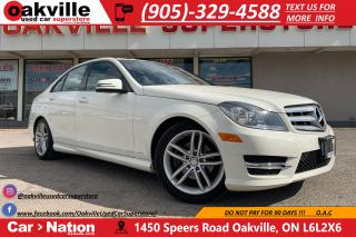 Used 2012 Mercedes-Benz C-Class C250 4MATIC | LEATHER | NAVI | BLUETOOTH | LOW KM for sale in Oakville, ON
