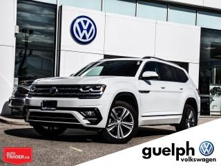 Used 2018 Volkswagen Atlas EXECLINE for sale in Guelph, ON