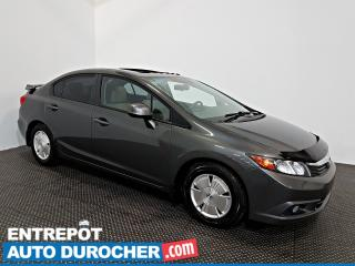 Used 2012 Honda Civic Sdn EX-L NAVIGATION - Toit Ouvrant - A/C - Cuir for sale in Laval, QC