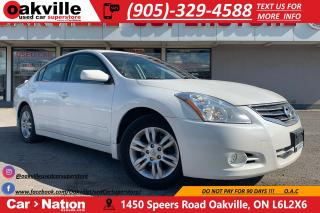 Used 2011 Nissan Altima 2.5 S | SUNROOF | HEATED SEATS | BLUETOOTH for sale in Oakville, ON