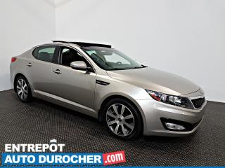 Used 2013 Kia Optima EX TOIT OUVRANT - AIR CLIMATISÉ - Cuir for sale in Laval, QC