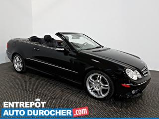 Used 2008 Mercedes-Benz CLK 5.5L DÉCAPOTABLE - NAVIGATION - A/C - CUIR for sale in Laval, QC