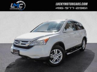 Used 2011 Honda CR-V EX-L 4WD-FULLY LOADED-LEATHER-SUNROOF-REMOTE STARTER for sale in Toronto, ON