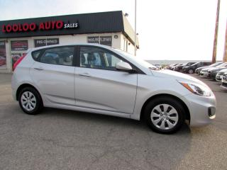 Used 2016 Hyundai Accent SE BLUETOOTH HATCHBACK AUTOMATIC CERTIFIED for sale in Milton, ON