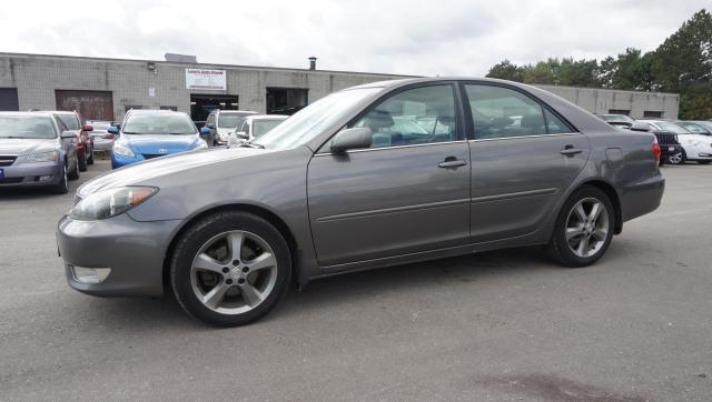 2005 Toyota Camry SE V6 AUTO CERTIFIED 2YR WARRANTY *ACCIDENT FREE* HEATED LEATHER SUNROOF ALLOYS