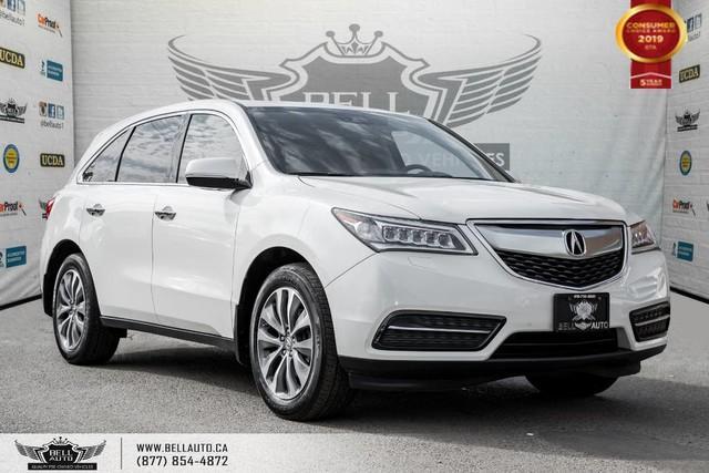 2016 Acura MDX Nav Pkg, AWD, 7 PASS, NO ACCIDENT, BACK-UP CAM, LANE DEP, SENSORS