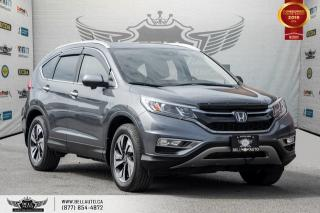 Used 2015 Honda CR-V Touring, AWD, NO ACCIDENT, NAVI, BACK-UP CAM, BLIND SPOT CAM for sale in Toronto, ON