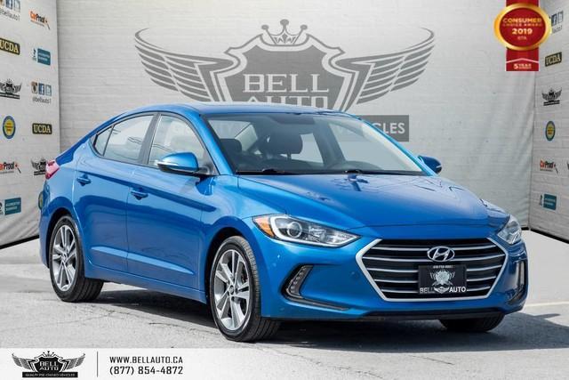 2017 Hyundai Elantra GLS, NO ACCIDENT, BACK-UP CAM, BLIND SPOT, SUNROOF