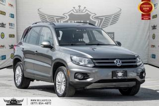 Used 2016 Volkswagen Tiguan Comfortline, AWD, BACK-UP CAM, PUSH START, BLUETOOTH for sale in Toronto, ON