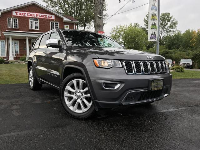 "2017 Jeep Grand Cherokee Limited 4WD NAV-8.4"" Screen-Htd Front and Rear Seats-Lthr-4X4-Pwr Lift-"