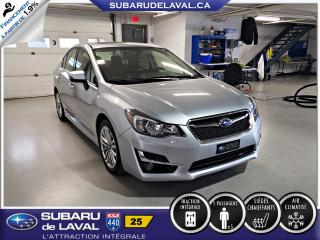Used 2015 Subaru Impreza 2.0i Limited EyeSight Berline ** Cuir To for sale in Laval, QC