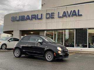 Used 2013 Fiat 500 C Décapotable 2 portes Lounge for sale in Laval, QC