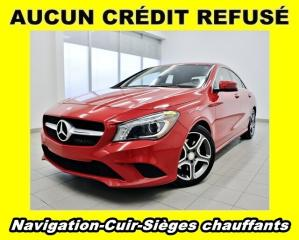 Used 2016 Mercedes-Benz CLA-Class 250 4MOTION SIÈGES CHAUFFANTS CUIR *NAVIGATION* for sale in St-Jérôme, QC