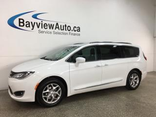 Used 2018 Chrysler Pacifica Touring-L Plus - HTD LTHR! PANOROOF! DVD/BLU-RAY! 3 ZONE A/C! STOW 'N GO! + MUCH MORE! for sale in Belleville, ON