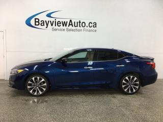 Used 2017 Nissan Maxima SR - HTD/COOLED SEATS! NAV! ADAPTIVE CRUISE! PADDLE SHIFTERS! + MUCH MORE! for sale in Belleville, ON