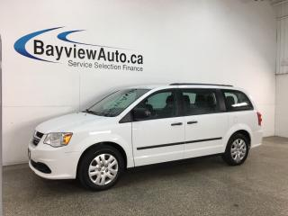 Used 2016 Dodge Grand Caravan SE/SXT - STOW 'N GO! DUAL A/C! FULL PWR GROUP! for sale in Belleville, ON