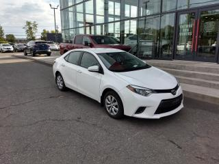 Used 2016 Toyota Corolla LE CVT for sale in Lévis, QC
