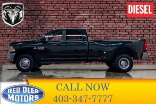Used 2017 RAM 3500 4x4 Crew Cab SLT Dually Diesel for sale in Red Deer, AB
