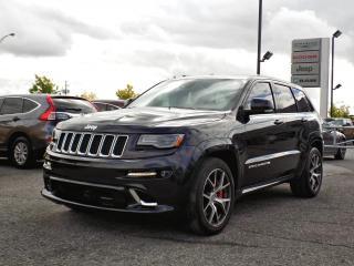 Used 2016 Jeep Grand Cherokee SRT *CUIR*TOIT PANO*GPS*HEMI 6.4* for sale in Brossard, QC