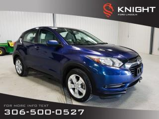Used 2016 Honda HR-V LX for sale in Moose Jaw, SK