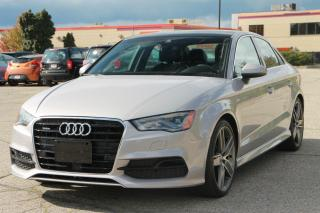Used 2015 Audi A3 2.0T Technik S-Line Pkg | NAVI | B&O Sound | BACKUP CAMERA for sale in Waterloo, ON