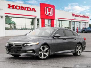 Used 2019 Honda Accord Touring 1.5T Demonstrator! Bluetooth, Back Up Camera and More! for sale in Waterloo, ON