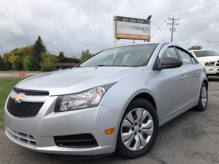 Used 2012 Chevrolet Cruze LS Auto, Air, Pwr Windows, Keyless Entry and Fog Lights! for sale in Kemptville, ON