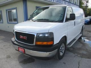 Used 2017 GMC Savana 3/4 TON CARGO MOVING 2 PASSENGER 4.8L - VORTEC.. SHORTY.. BARN MIDDLE DOOR.. TOW SUPPORT.. AIR CONDITIONING.. AUX INPUT.. for sale in Bradford, ON