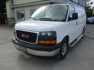 Used 2017 GMC Savana 3/4 TON CARGO MOVING 2 PASSENGER 4.8L - VORTEC.. SHORTY.. SLIDING MIDDLE DOOR.. TOW SUPPORT.. AIR CONDITIONING.. AUX INPUT.. for sale in Bradford, ON