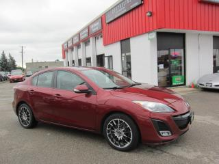 Used 2010 Mazda MAZDA3 GT $6,995 + HST + LIC FEE / CLEAN CAR FAX REPORT /CERTIFIED for sale in North York, ON