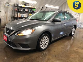Used 2018 Nissan Sentra SV * Power sunroof * Sport/Normal/ECO mode * Nissan connect * Back up camera * Forward Collision Mitigation * Heated front seats * Hands free steering for sale in Cambridge, ON