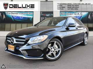 Used 2015 Mercedes-Benz C-Class 2015 MERCEDES BENZ C300- 4MATIC AWD NAVIGATION AMG PKGEngine: 2.0L Turbo I4 Includes ECO stop/start for sale in Concord, ON