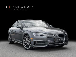Used 2018 Audi A4 Sedan Progressiv I S-LINE I NAVIGATION I BACKUP for sale in Toronto, ON