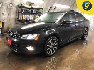 Used 2017 Volkswagen Jetta Highline * Navigation * Leather * Power sunroof * Blind spot assist * Cross traffic alert * Reverse camera *  Voice recognition * Auto projection head for sale in Cambridge, ON