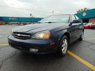 Used 2004 Chevrolet Epica Berline LS 4 portes for sale in St-Eustache, QC