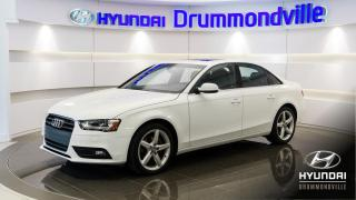 Used 2013 Audi A4 PREMIUM PLUS + BANG/OLUFSEN + NAVI + WOW for sale in Drummondville, QC