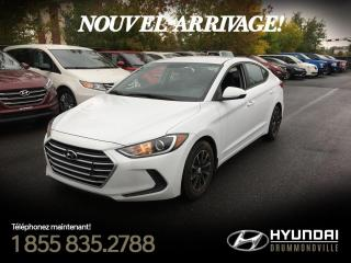 Used 2017 Hyundai Elantra LE + GARANTIE + MAGS + BLUETOOTH + WOW ! for sale in Drummondville, QC