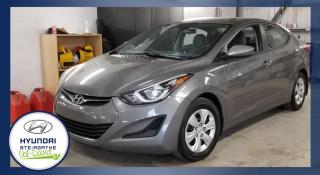 Used 2014 Hyundai Elantra Berline 4 portes, boîte manuelle, GL for sale in Val-David, QC