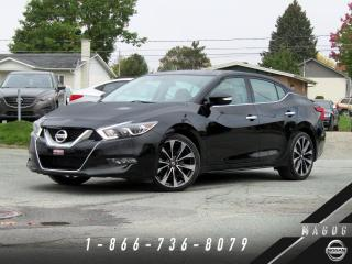 Used 2016 Nissan Maxima SR + MAGS 19 + BOSE + NAV + CAMÉRA! for sale in Magog, QC
