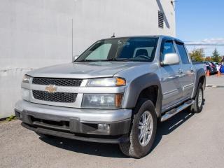 Used 2010 Chevrolet Colorado LT 4X4 CLIMATISEUR *100% APPROUVÉ* for sale in Mirabel, QC