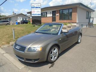 Used 2004 Audi A4 Convertible for sale in Ancienne Lorette, QC