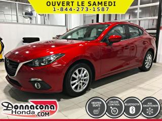 Used 2014 Mazda MAZDA3 GS-SKY *CAMERA, AIR, CRUISE* for sale in Donnacona, QC