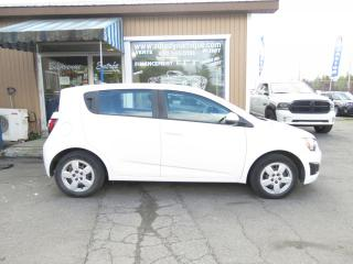 Used 2014 Chevrolet Sonic 5 portes à hayon LS à b. man. for sale in Prevost, QC