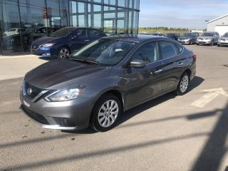 Used 2017 Nissan Sentra S, AUTO, CERTIFIE, 1.9% for sale in Lévis, QC