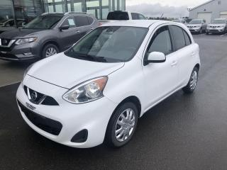 Used 2015 Nissan Micra S, AUTO, A/C, CERTIFIE for sale in Lévis, QC