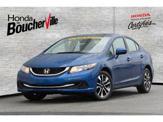 Used 2014 Honda Civic EX Garantie complète 100, 000km ou avril 2020 for sale in Boucherville, QC